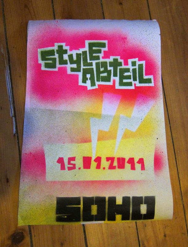 Poster zum Styleabteil